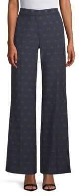 Max Mara Giore Wide-Leg Logo Pants