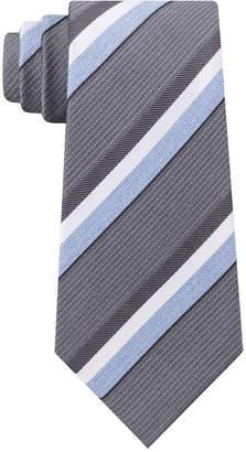 Kenneth Cole Reaction Men Slim Denim Stripe Tie