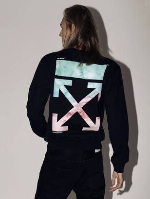 Off-White Off White Lvr Exclusive Printed Cotton Sweatshirt