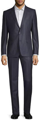 Versace 2Pc Wool & Silk-Blend Suit With Pleated Pant