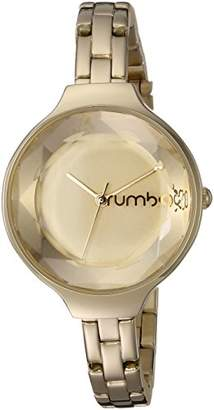 RumbaTime Women's 'Orchard Gem' Quartz Metal and Stainless Steel Casual Watch