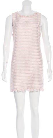 Alice + OliviaAlice + Olivia Metallic Tweed Dress