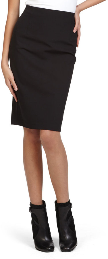 Kenneth Cole NEW YORK SPORTSWEAR High-Waist Pencil Skirt