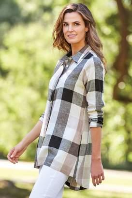 Soft Surroundings Carreaux Shirt