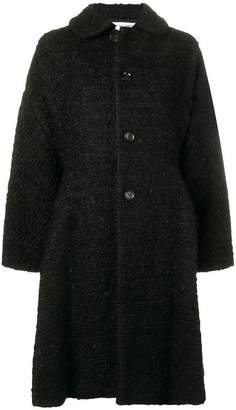 Comme des Garcons flared single-breasted coat