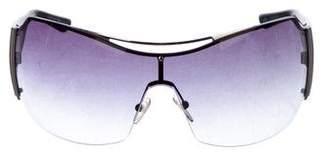 Emporio Armani Gradient Shield Sunglasses