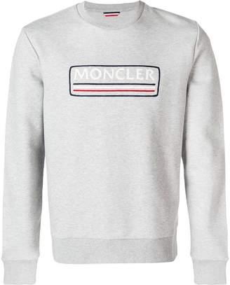 Moncler tri-stripe logo sweatshirt
