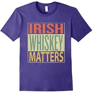 Irish Whiskey Shirt. Funny Vintage Shirt Retro 70s Colors