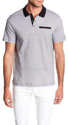 English Laundry Printed Interlock Polo Shirt