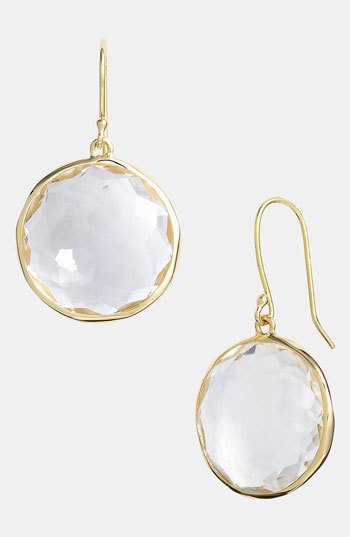 Ippolita 'Rock Candy - Lollipop' 18k Gold Drop Earrings