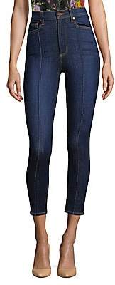 Alice + Olivia Jeans Jeans Women's Good Dream High-Rise Pintuck Skinny Jeans