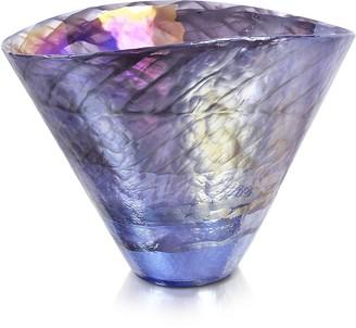 Murano Yalos Agadir - Purple Glass Vase