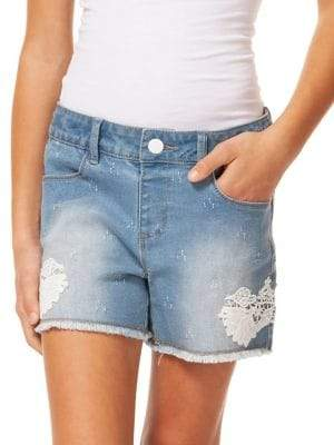Dex Girl's Lace Shorts