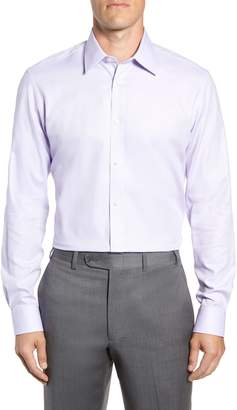 Ted Baker Trim Fit Stretch Performance Dress Shirt