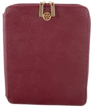 Tory Burch Leather iPad Case