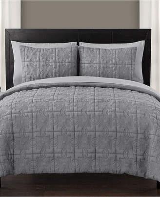 Vcny Home Iron Gate 7-Pc. Quilted Queen Bed-in-a-Bag Set Bedding