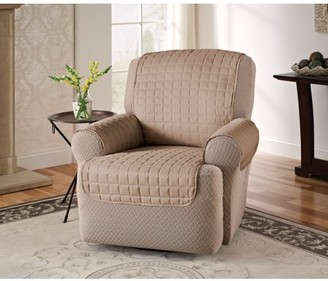 Innovative Textile Solutions Microfiber Furniture Recliner/Wing Chair Protector Slipcover