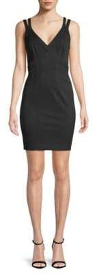 Zac Posen V-Neck Sheath Dress