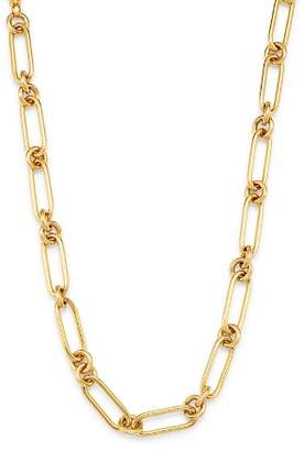 """Bloomingdale's 14K Yellow Gold Chain Link Collar Necklace, 18"""" - 100% Exclusive"""