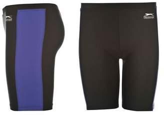 Slazenger Kids Swimming Jammers Junior Boys Long Shorts Elasticated Waist