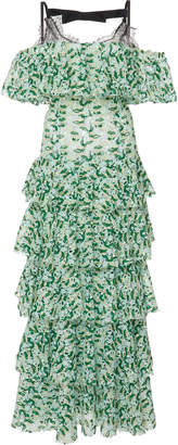 Giambattista Valli Off-The-Shoulder Dress