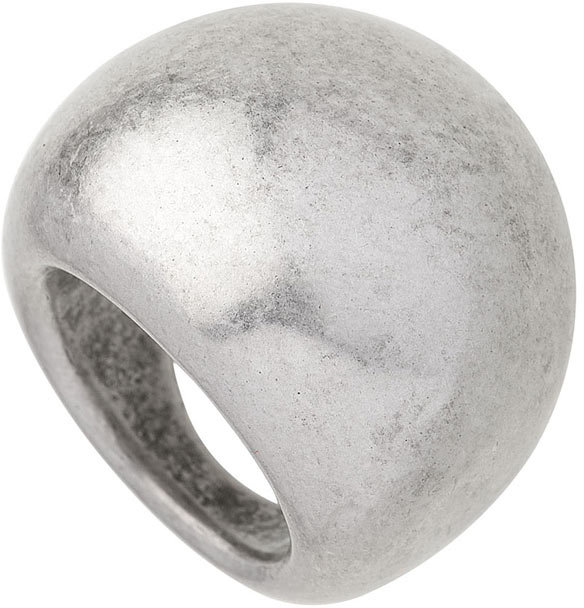 Silver Chunky Metal Ring