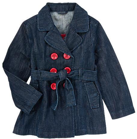Gymboree Denim Trench Coat