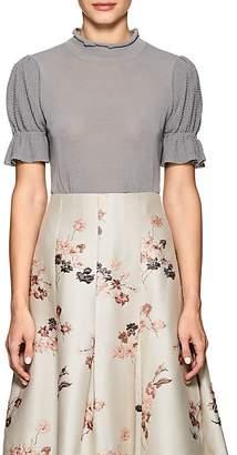 Co Women's Cotton-Blend Knit Top