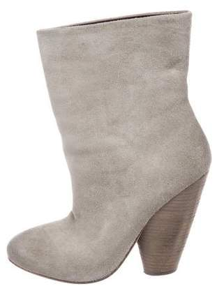 Marsèll Distressed Suede Booties