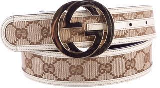 Gucci Interlocking GG Belt $225 thestylecure.com