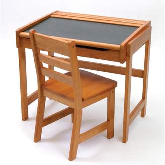 Lipper Children's Chalkboard Desk & Chair Set