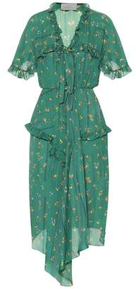 Preen by Thornton Bregazzi Georgi printed silk dress