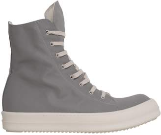 Drkshdw High Top Sneakers In Technical Fabric