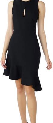Adelyn Rae Asymmetric Knit Dress