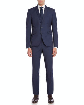 Kenneth Cole Reaction Two-Piece Denim Blue Suit