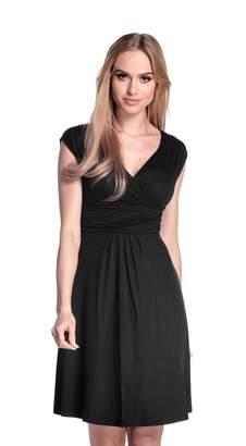 Glamour Empire Women's Sleeveless Circle Skater Flattering Summer Dress 8-20 256 (