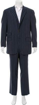 Etro Striped Wool Two-Piece Suit w/ Tags