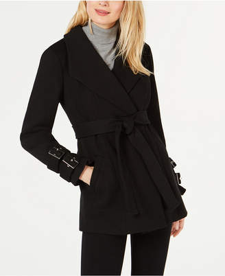 INC International Concepts I.n.c. Belted Ponte-Knit Coat