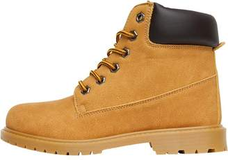 Board Angels Womens Cleat Sole Boots Camel