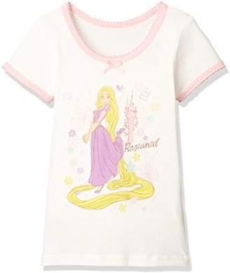 Disney (ディズニー) - [ディズニー] 塔の上のラプンツェル3分袖Tシャツ 371100853 ガールズ オフ 日本 120 (日本サイズ120 相当)