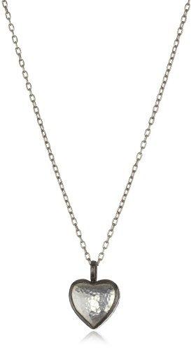"""Gurhan Amulet"""" Silver Heart Pendant Necklace"""