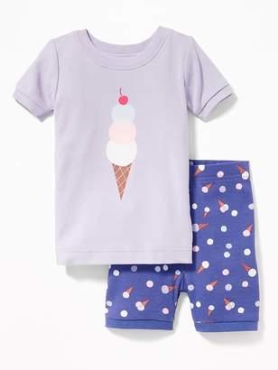 Old Navy Ice-Cream Print Sleep Set for Toddler & Baby