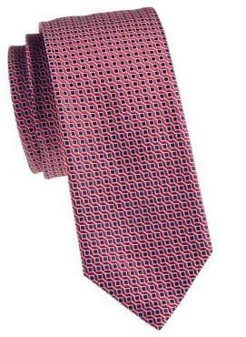 HUGO BOSS Wool & Silk Printed Tie