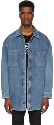 Diesel Blue Denim D-Loren Jacket