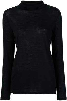 Allude roll neck top