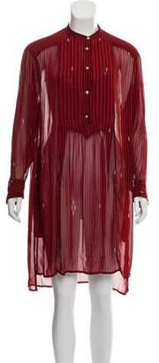 Etoile Isabel Marant Striped Midi Dress