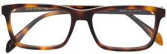 Alexander McQueen Eyewear square glasses
