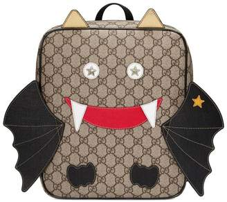 Gucci Children's bat backpack