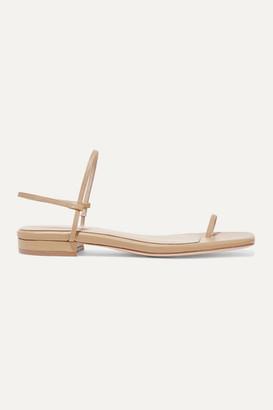 STUDIO AMELIA - Leather Slingback Sandals