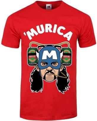 Grindstore Captain 'Murica Men's T-shirt